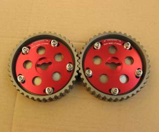Adjustable cam gears Suzuki Swift GTI G13B cam pulley 2pcs