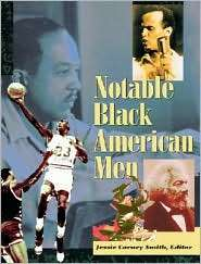 Notable Black American Men, (0787607630), Gale Research Incorporated