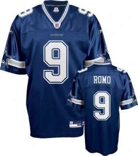Dallas Cowboys NFL Reebok Replica Team Color Jersey   Tony Romo