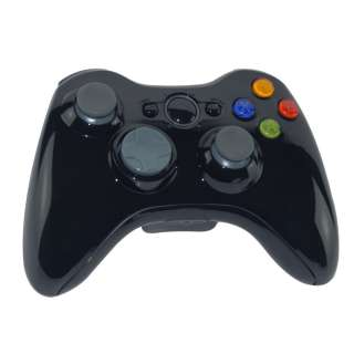 Wireless Controller Shell Case Kit for XBOX 360 Black