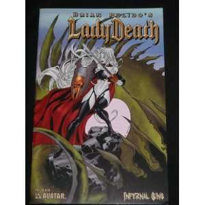 COMIC BOOK AVATAR (LADY DEATH, 1ST): BRIAN PULIDO, various: Books