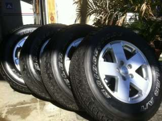2012 JK Jeep Wrangler Tires & Wheels   LIKE NEW