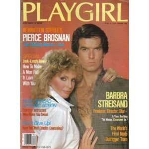Pierce Brosnan, Barbra Streisand, Aerobics Playgirl Magazine Books