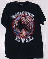 WWE Worldwide Evil Sin Dicate World Tour Adult Shirt