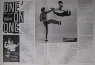 RARE 3/95 INSIDE KUNG FU MAGAZINE BRUCE LEE KALI BLACK BELT KARATE