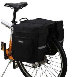 28L Cycling Bicycle Bag Bike rear seat bag pannier with rain cover