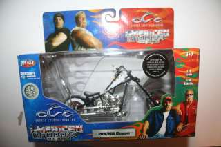 ORANGE COUNTY DIE CAST POW / MIA CHOPPER MOTORCYCLE