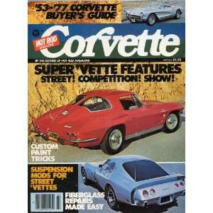HOT ROD MAGAZINE CORVETTE (53 77 Corvette Buyers Guide, Petersen