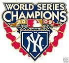 2009 NEW YORK YANKEES WORLD SERIES CHAMPIONS PIN