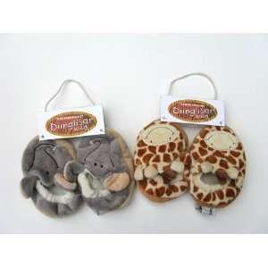 Teddykompaniet Diinglisar Wild Animal Elephant and Giraffe