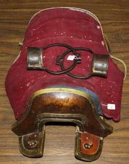 name wonderful amazing old antique tibetan folk noble saddle the