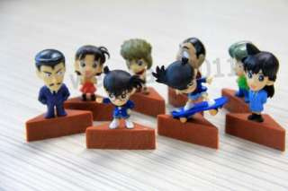 Detective conan Japan anime action PVC figures 16 pcs toy