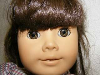 Gorgeous Retired Samantha Doll Excellent American Girl Meet Outfit
