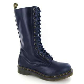 Dr.Martens 1B99 Buttero Blue Leather Womens Boots