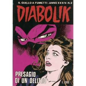 comic book style   in Italian language), Anno XXXIV, N0. 2): Angela