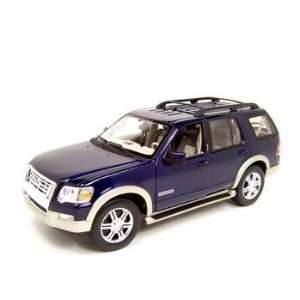 2006 Ford Explorer (Eddie Bauer) 1/18 Blue Toys & Games