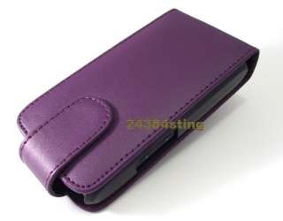 LEATHER FLIP CASE COVER POUCH for LG OPTIMUS GT540