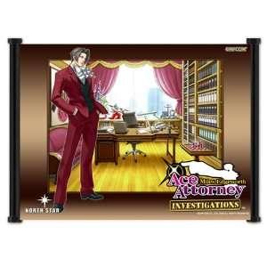 Ace Attorney Phoenix Wright Apollo Justice Game Fabric