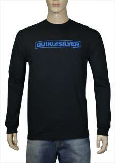 Quiksilver Mens Blockbuster Long Sleeve Shirt Black