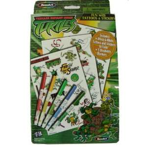 com Teenage Mutant Ninja Turtles Fun Pack Tattoos & Stickers Beauty
