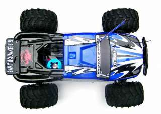 RTR quake 1/8 Nitro Monster Truck RTR NITRO CAR