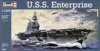 RVG5801 USS Enterprise Aircraft Carrier 1 1200 Revell G