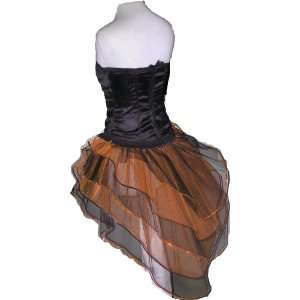 Tutu Skirt Peacock Halloween Punk Rave Dance Fancy Costume Dress Party