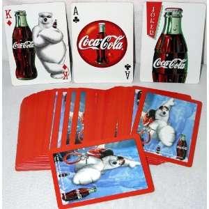 Coca Cola Coke Polar Bear Rock Climbing Promotional Playing Cards 1998