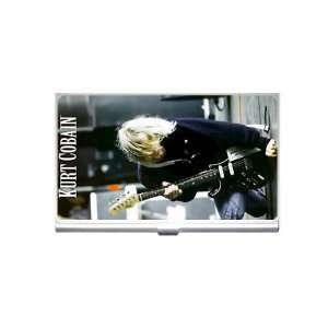 kurt cobain nirvana Business Card Holder Everything Else