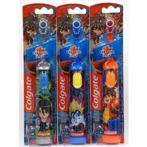 Colgate Bakugan Childrens Powered Toothbrush, Extra Soft