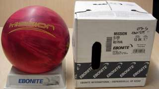 New In Box) Bowling Ball 2010 Ebonite Mission 13 lbs 0A061082A
