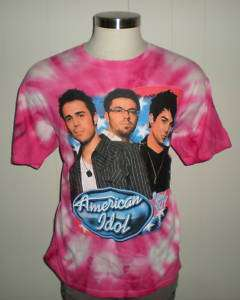 American Idol Live 2009 tour t shirt (XL) MT#3