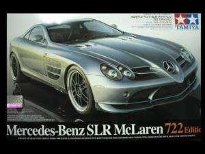 24 TAMIYA Mercedes Benz SLR McLaren 722 EDITION