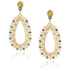 Sara Weinstock French Lace Gold French Lace Earrings