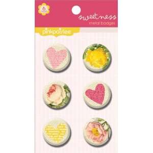 Sweetness Metal Badges  Arts, Crafts & Sewing