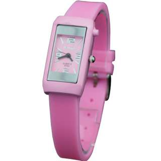 New Small 13 Candy Colors Quartz Silicone Ladies Womens Wrist Watch