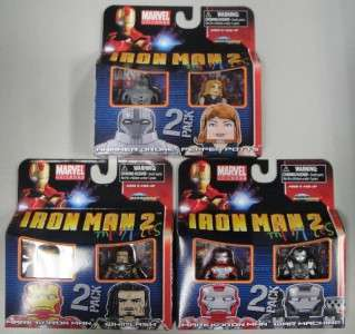 IN STOCK MARVEL MINIMATES SERIES 35 FIGURE SET IRON MAN