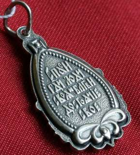 ICON PENDAN   OUR LORD JESUS CHRIST. SILVER 925. JEWELRY.