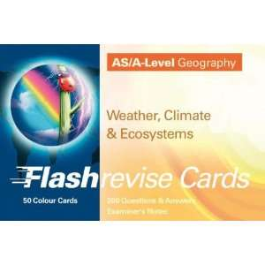 Flash Revise Cards As/A   Level Geography Weather,Climate
