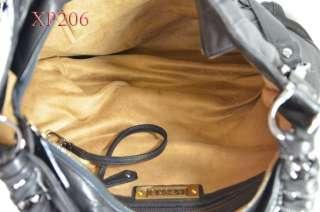 Be&D DONNINGTON BLACK LEATHER HOBO BAG $1225