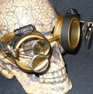 Steampunk Goggles Glasses cyber lens GC goth punk RAVE