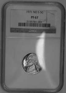 NGC authenticated and graded at PF67. You will receive the coin shown