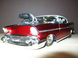 24 1957 Chevy Bel Air Outlaw Drag Car NHRA Pro Mod Custom Pro Street