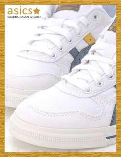 Brand New ASICS AARON CV Shoes White/Mist Blue #92