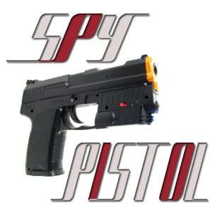 Tactical Pistol Led Light Laser Spring Airsoft Gun