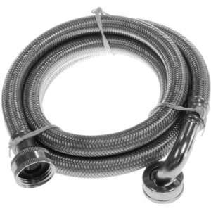 Aviditi 30530AVI Stainless Steel Braided Large Wash Machine Hose with