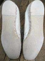 Stuart Weitzman Gold Ballet Flats Shoes Size 8.5 B