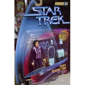 STAR TREK SERIALIZED WARP FACTOR SERIES 3 CADET DEANNA
