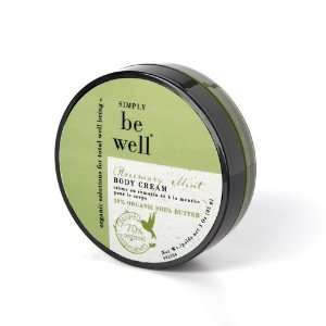 Simply Be Well Rosemary Mint Body Cream Beauty