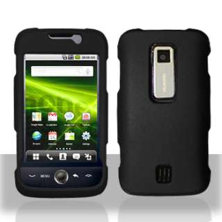 Black Case+Screen Protector for Huawei Ascend M860